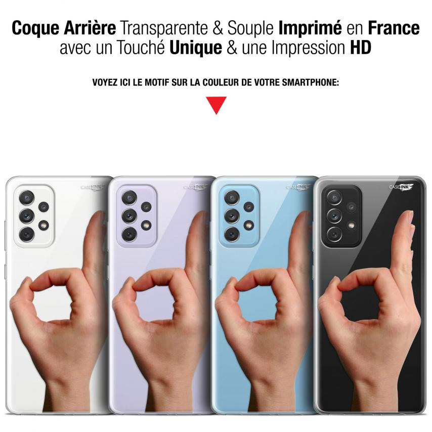 "Coque Gel Samsung Galaxy A72 4G/5G (6.7"") Motif - Le Jeu du Rond"