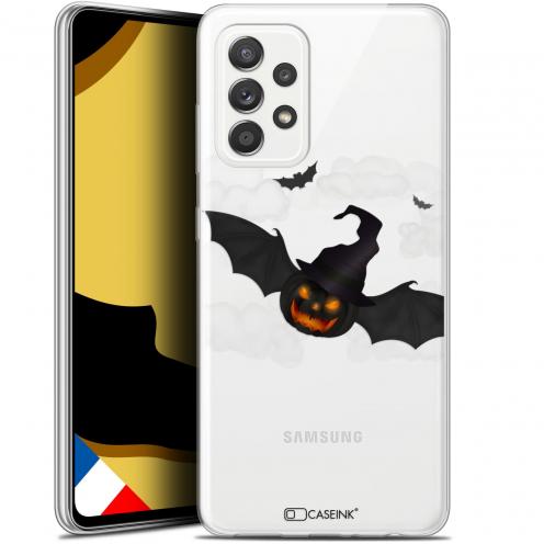 """Coque Gel Samsung Galaxy A52 5G (6.5"""") Halloween - Chauve Citrouille"""