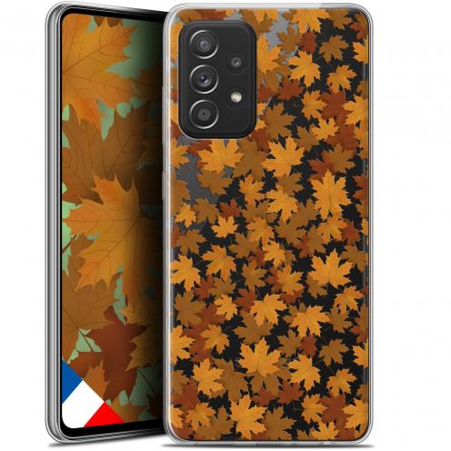 """Coque Gel Samsung Galaxy A52 5G (6.5"""") Autumn 16 - Feuilles"""