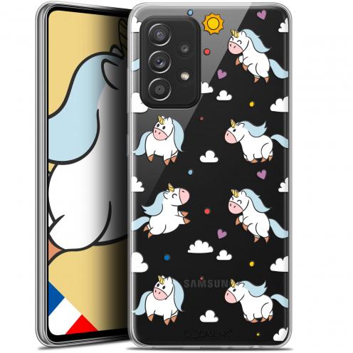 "Coque Gel Samsung Galaxy A52 5G (6.5"") Fantasia - Licorne In the Sky"
