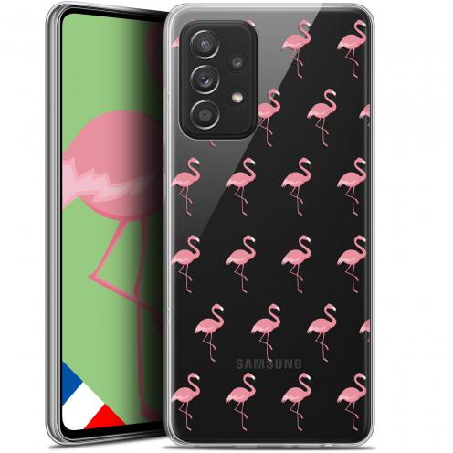 "Coque Gel Samsung Galaxy A52 5G (6.5"") Pattern - Les flamants Roses"