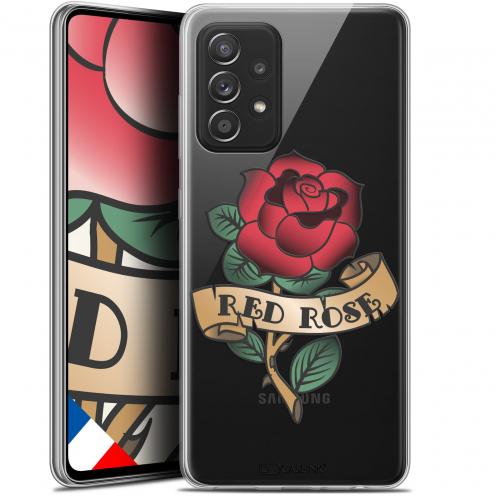 "Coque Gel Samsung Galaxy A52 5G (6.5"") Tatoo Lover - Red Rose"