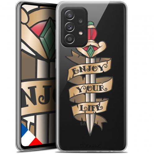 """Coque Gel Samsung Galaxy A52 5G (6.5"""") Tatoo Lover - Enjoy Life"""