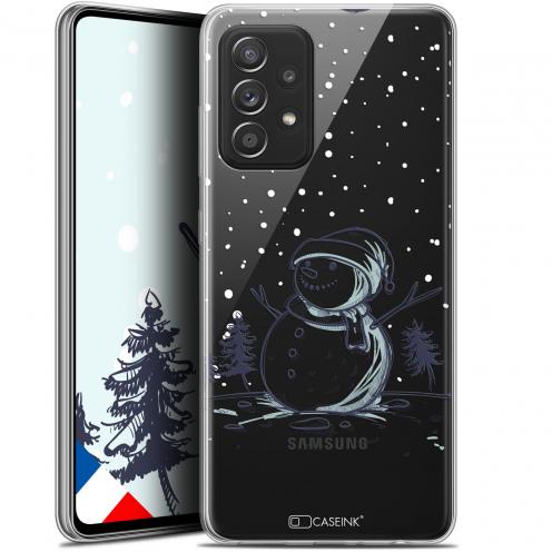 "Coque Gel Samsung Galaxy A52 5G (6.5"") Noël - Bonhomme de Neige"
