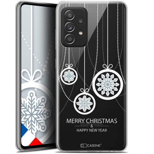 "Coque Gel Samsung Galaxy A52 5G (6.5"") Noël - Christmas Balls"