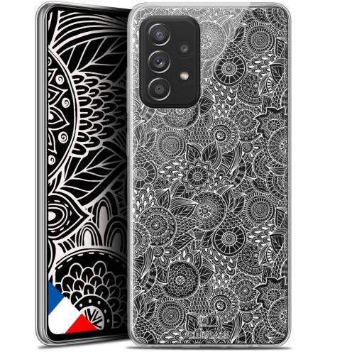 "Coque Gel Samsung Galaxy A52 5G (6.5"") Dentelle Florale - Blanc"