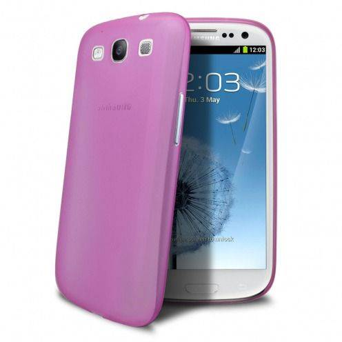 Coque Ultra Fine 0.3mm Frost Samsung Galaxy S3 Rose