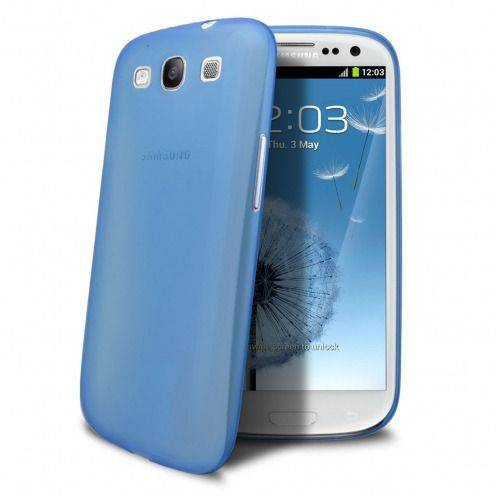 Coque Ultra Fine 0.3mm Frost Samsung Galaxy S3 Bleue