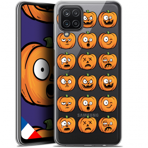 "Coque Gel Samsung Galaxy A12 (6.5"") Halloween - Cartoon Citrouille"