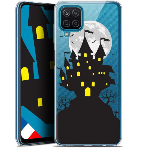 "Coque Gel Samsung Galaxy A12 (6.5"") Halloween - Castle Scream"