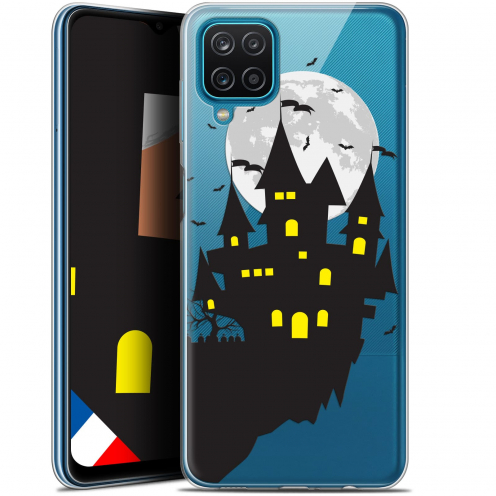 "Coque Gel Samsung Galaxy A12 (6.5"") Halloween - Castle Dream"