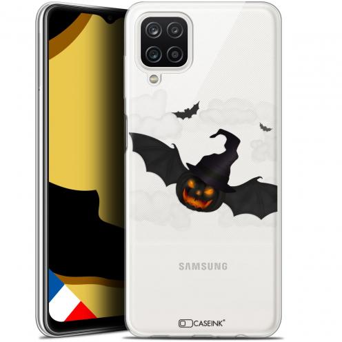 """Coque Gel Samsung Galaxy A12 (6.5"""") Halloween - Chauve Citrouille"""