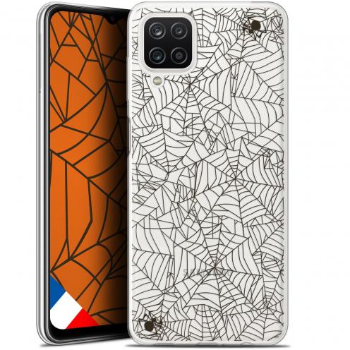 "Coque Gel Samsung Galaxy A12 (6.5"") Halloween - Spooky Spider"