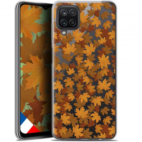"""Coque Gel Samsung Galaxy A12 (6.5"""") Autumn 16 - Feuilles"""