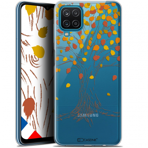"Coque Gel Samsung Galaxy A12 (6.5"") Autumn 16 - Tree"