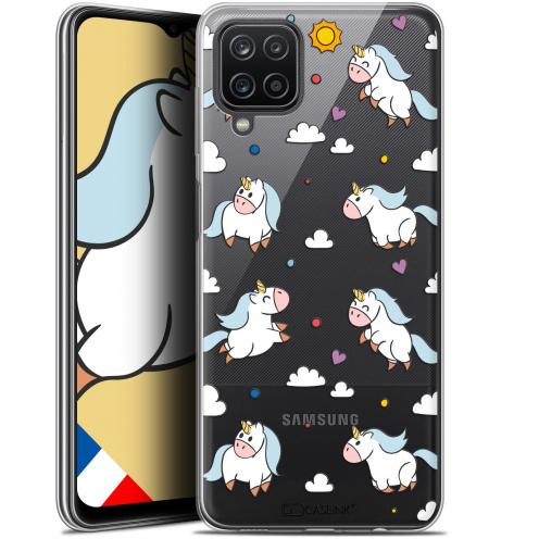"Coque Gel Samsung Galaxy A12 (6.5"") Fantasia - Licorne In the Sky"