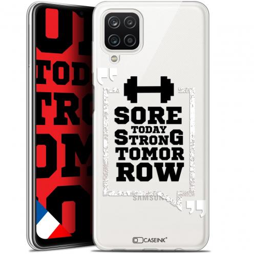 "Coque Gel Samsung Galaxy A12 (6.5"") Quote - Strong Tomorrow"
