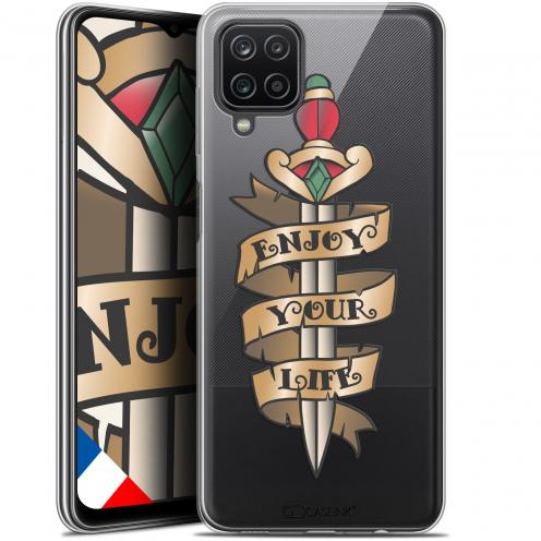 """Coque Gel Samsung Galaxy A12 (6.5"""") Tatoo Lover - Enjoy Life"""