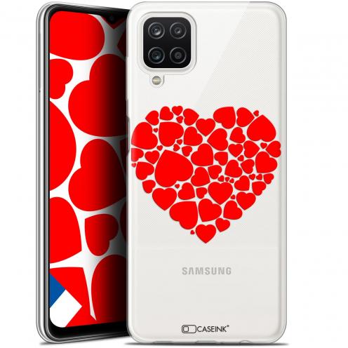 "Coque Gel Samsung Galaxy A12 (6.5"") Love - Coeur des Coeurs"