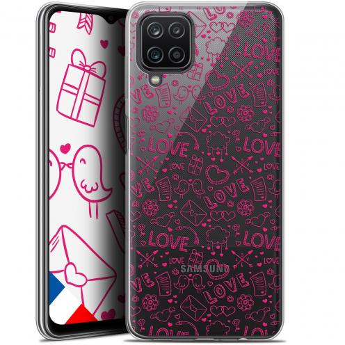 """Coque Gel Samsung Galaxy A12 (6.5"""") Love - Doodle"""