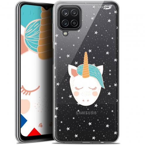 "Coque Gel Samsung Galaxy A12 (6.5"") Motif - Licorne Dors"