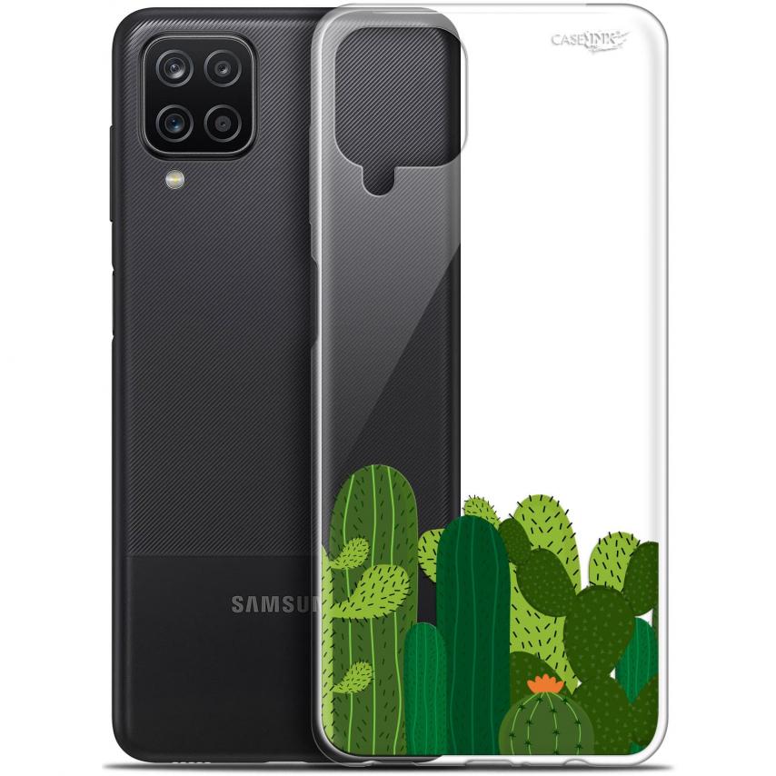 """Coque Gel Samsung Galaxy A12 (6.5"""") Motif - Cactus"""