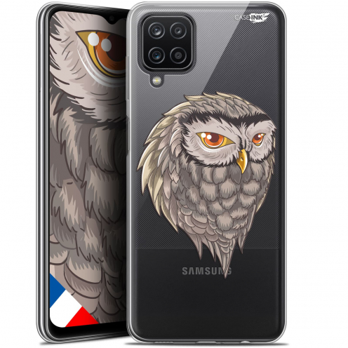 """Coque Gel Samsung Galaxy A12 (6.5"""") Motif - Hibou Draw"""