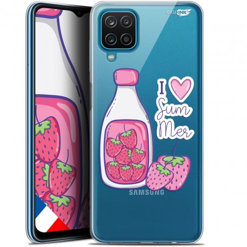 "Coque Gel Samsung Galaxy A12 (6.5"") Motif - Milky Summer"