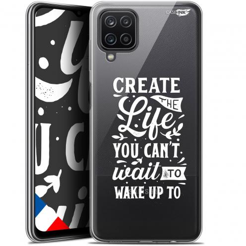 "Coque Gel Samsung Galaxy A12 (6.5"") Motif - Wake Up Your Life"