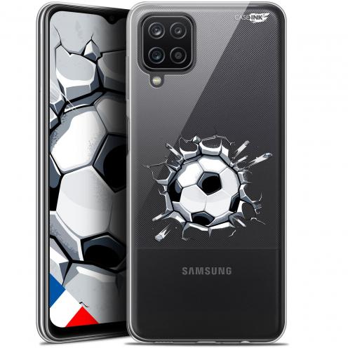 """Coque Gel Samsung Galaxy A12 (6.5"""") Motif - Le Balon de Foot"""
