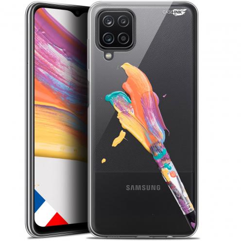 """Coque Gel Samsung Galaxy A12 (6.5"""") Motif - Pinceau de Peinture"""
