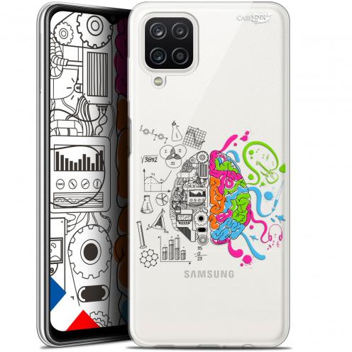 "Coque Gel Samsung Galaxy A12 (6.5"") Motif - Le Cerveau"