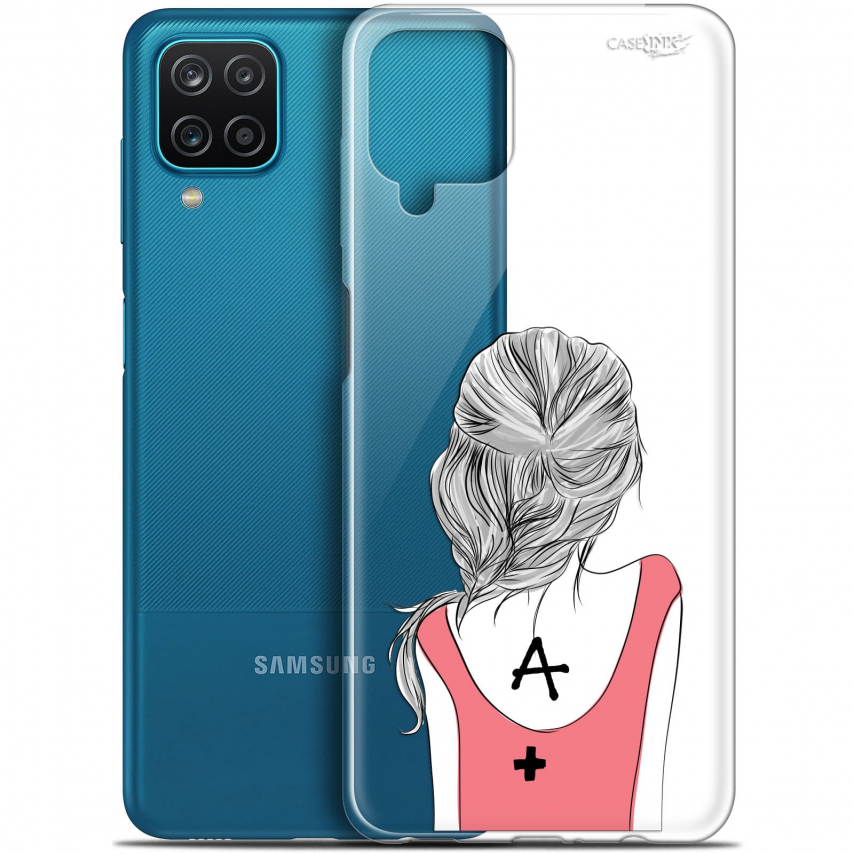 "Coque Gel Samsung Galaxy A12 (6.5"") Motif - See You"