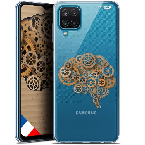 "Coque Gel Samsung Galaxy A12 (6.5"") Motif - Mécanismes du Cerveau"