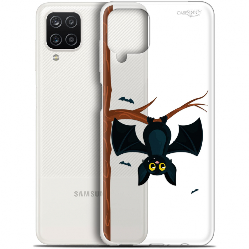 "Coque Gel Samsung Galaxy A12 (6.5"") Motif - Petite Chauve Souris"