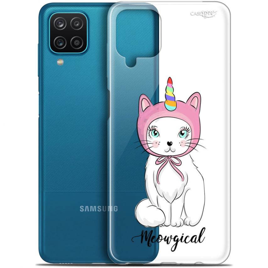 "Coque Gel Samsung Galaxy A12 (6.5"") Motif - Ce Chat Est MEOUgical"
