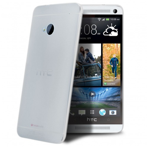 Coque Ultra Fine 0.3mm Frost HTC One Transparente