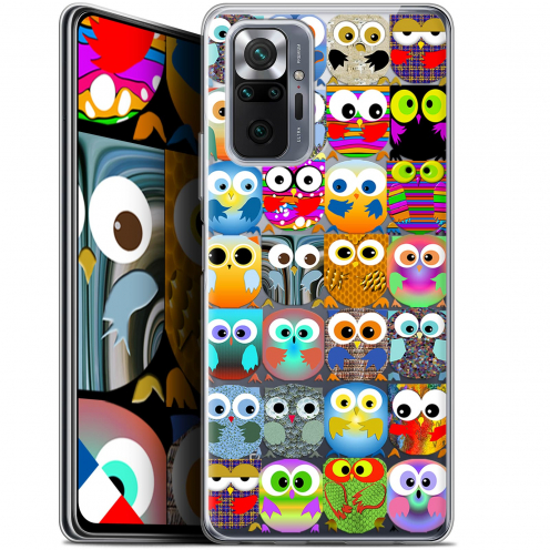"Coque Gel Xiaomi Redmi Note 10 PRO (6.7"") Claude - Hibous"
