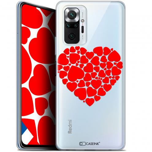 """Coque Gel Xiaomi Redmi Note 10 PRO (6.7"""") Love - Coeur des Coeurs"""