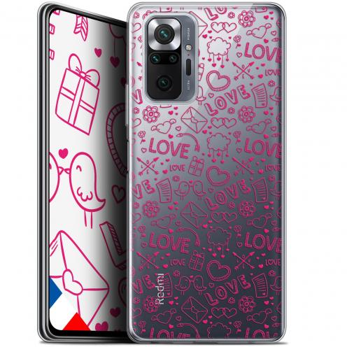 "Coque Gel Xiaomi Redmi Note 10 PRO (6.7"") Love - Doodle"
