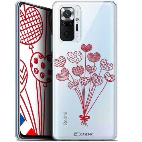 "Coque Gel Xiaomi Redmi Note 10 PRO (6.7"") Love - Ballons d'amour"