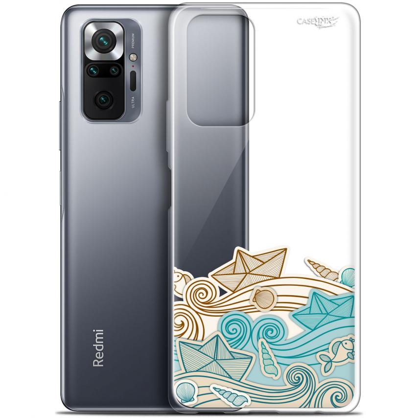 "Coque Gel Xiaomi Redmi Note 10 PRO (6.7"") Motif - Bateau de Papier"