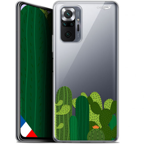 "Coque Gel Xiaomi Redmi Note 10 PRO (6.7"") Motif - Cactus"