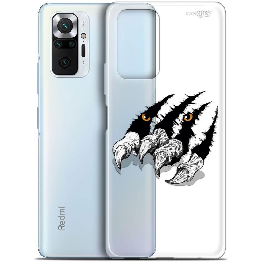 """Coque Gel Xiaomi Redmi Note 10 PRO (6.7"""") Motif - Les Griffes"""