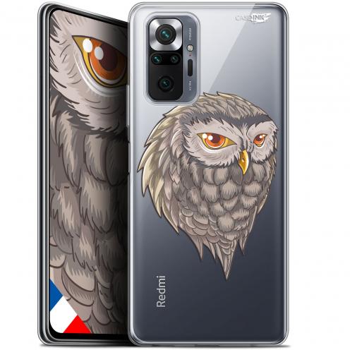 "Coque Gel Xiaomi Redmi Note 10 PRO (6.7"") Motif - Hibou Draw"