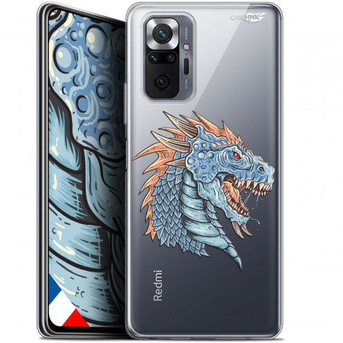 "Coque Gel Xiaomi Redmi Note 10 PRO (6.7"") Motif - Dragon Draw"