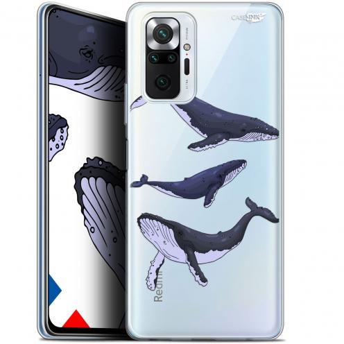 "Coque Gel Xiaomi Redmi Note 10 PRO (6.7"") Motif - Les 3 Baleines"
