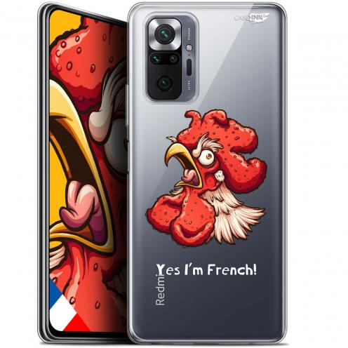 "Coque Gel Xiaomi Redmi Note 10 PRO (6.7"") Motif - I'm French Coq"