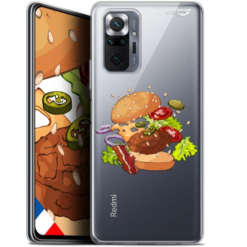 "Coque Gel Xiaomi Redmi Note 10 PRO (6.7"") Motif - Splash Burger"