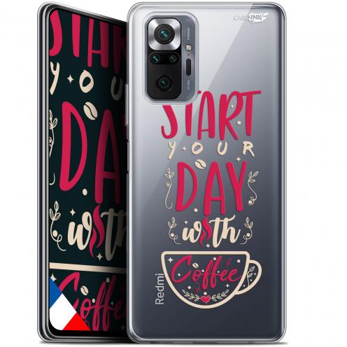 "Coque Gel Xiaomi Redmi Note 10 PRO (6.7"") Motif - Start With Coffee"